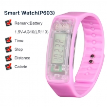 Smart Watches  low price and high quality fashion pink health care sports silicone smart watch